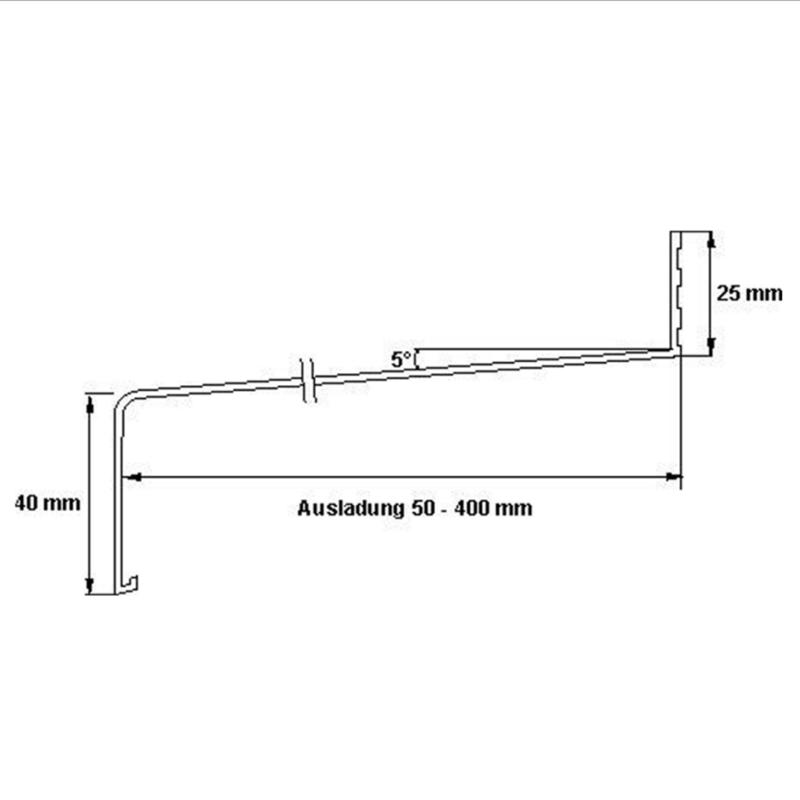 ALUMINIUM FENSTERBANK günstig online kaufen - weiß pulverbeschichtet ...