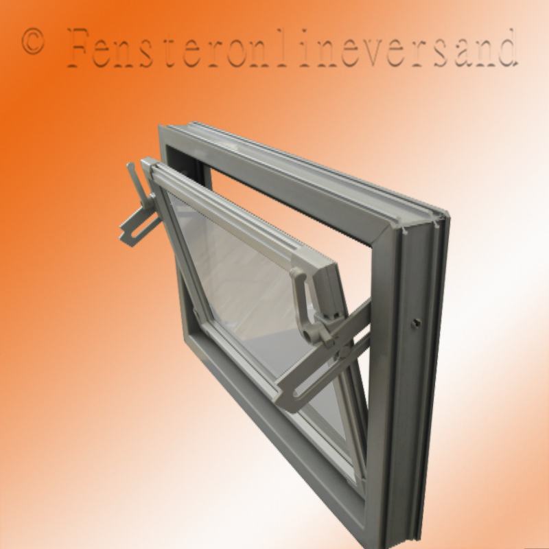 Kipp kellerfenster kunststoff dickglas 5 mm braun 700 x for Kunststoff kellerfenster
